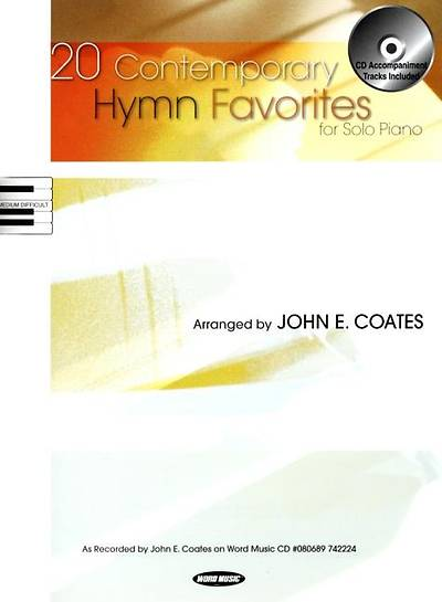 20 Contemporary Hymn Favorites; For Solo Piano With CD (Audio)