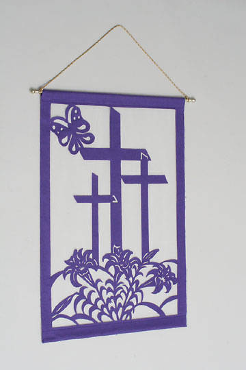 Easter Liturgical Wall Hanging Pattern