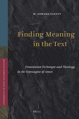 Finding Meaning in the Text