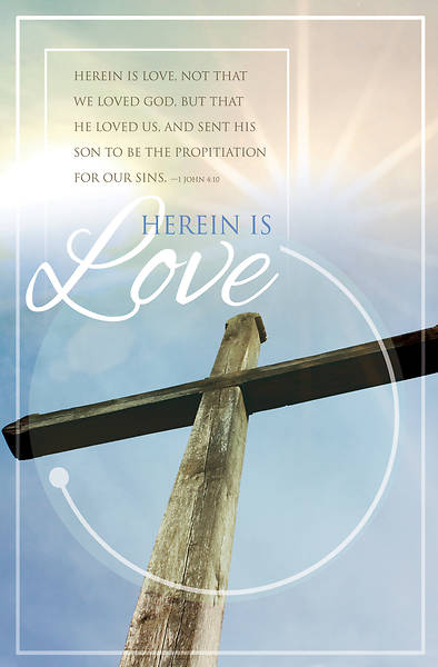 Herein is Love General Regular Size Bulletin