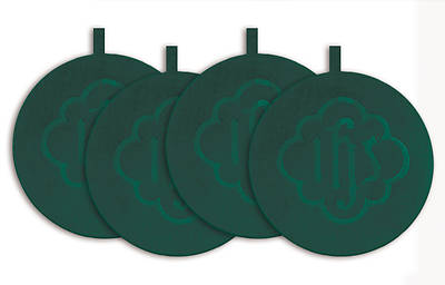 Mats Offering Plate Green (Set of 4)