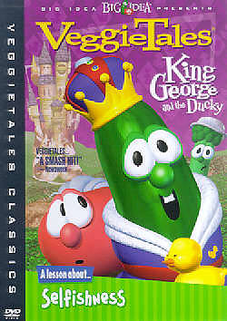 Veggie Tales King George and the Ducky DVD
