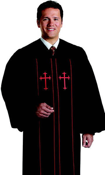 Cleric Mens Qwick-ship Pulpit Robes