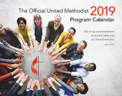 The Official United Methodist Program Calendar 2019 Classic Edition (spiral bound)