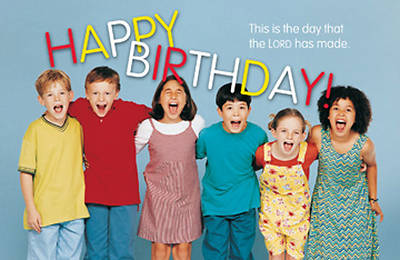 """Happy Birthday"" Postcard (Package of 25)"
