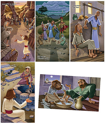 Group VBS 2014 Weird Animals Bible Story Posters Set of 5