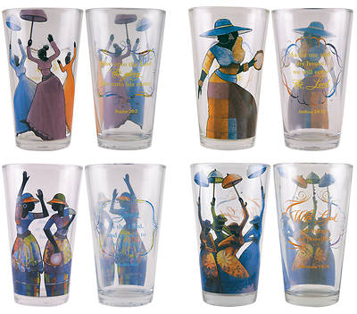 Total Praise Drinking Glasses 4 Pieces
