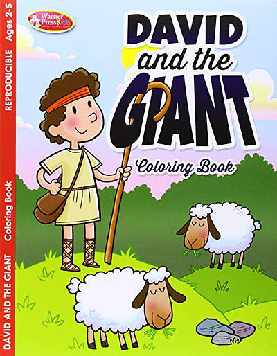 Coloring/Activity Book 2-5 David & the Giant