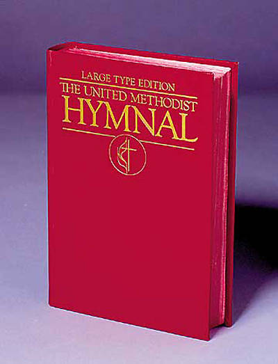 The United Methodist Hymnal Dark Red Large Type Edition