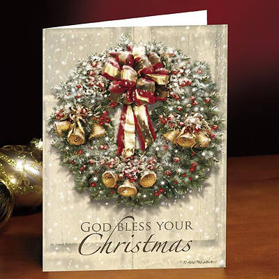 God Bless Your Christmas Boxed Cards - Box of 25