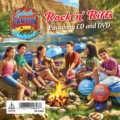 Vacation Bible School (VBS) 2018 Splash Canyon Music Passalong CD & DVD