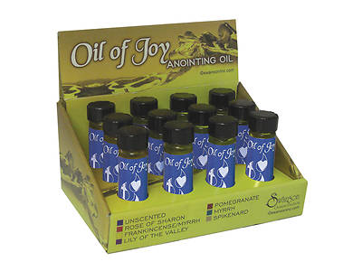 Oil of Joy Unscented Anointing Oils with Display Box
