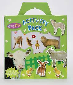 Sticker Activity Pack Animals [With 4 Scenes]