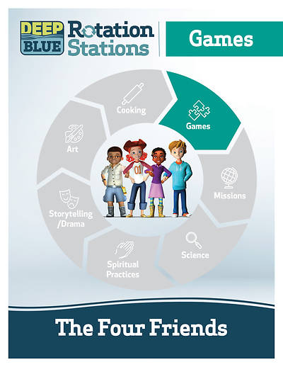 Deep Blue Rotation Station: The Four Friends - Games Station Download