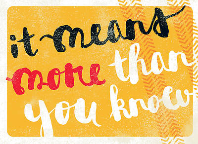 More Than You Know - Thank You Notes, Pack of 10