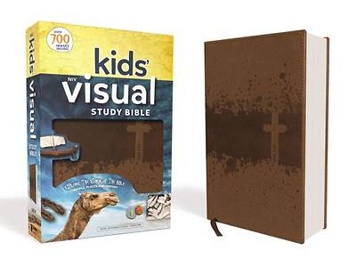 NIV Kids Visual Study Bible, Imitation Leather, Bronze, Full Color Interior