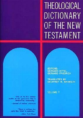 Theological Dictionary of the New Testament #5