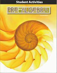 Pre Algebra Grade 8 Student Activities Manual 2nd Edition