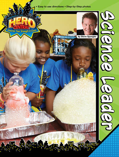 Vacation Bible School 2017 VBS Hero Central Science Leader - Download