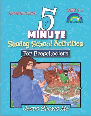 Five-Minute Sunday School Activities for Preschoolers