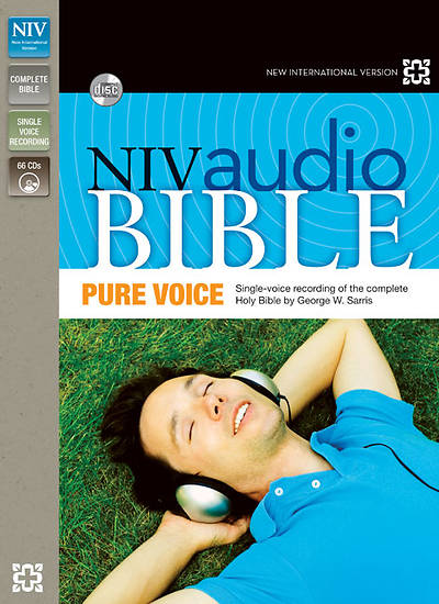 New International Version Audio Bible, Pure Voice Narrated by George W. Sarris
