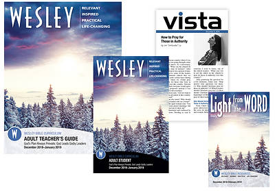 Wesley Adult Teachers Resource Kit Winter