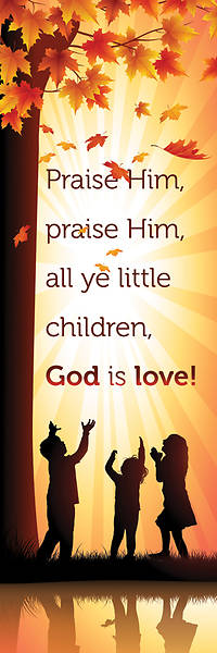 Bookmark Kids God is Love Matthew 21:16