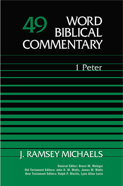 Word Biblical Commentary - First Peter