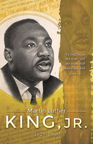 Black History Bulletin-Martin Luther King, Jr.