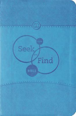 ESV Seek and Find Bible (Trutone, Blue)