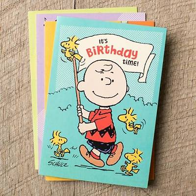 PEANUTS® - Birthday Cards - Box of 12