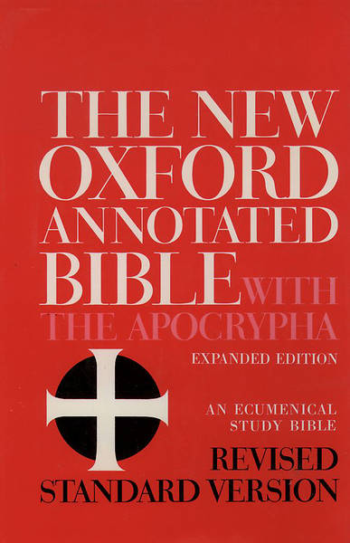 The New Oxford Annotated Bible with Apocrypha Revised Standard Version