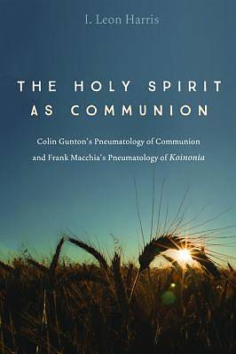 The Holy Spirit as Communion