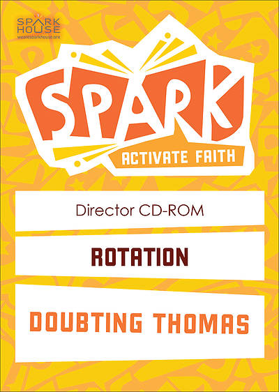 Spark Rotation Doubting Thomas Director CD