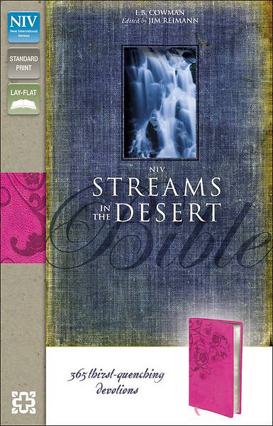 Streams in the Desert Bible-NIV