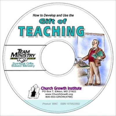 How to Develop and Use the Gift of Teaching, PDF on CD