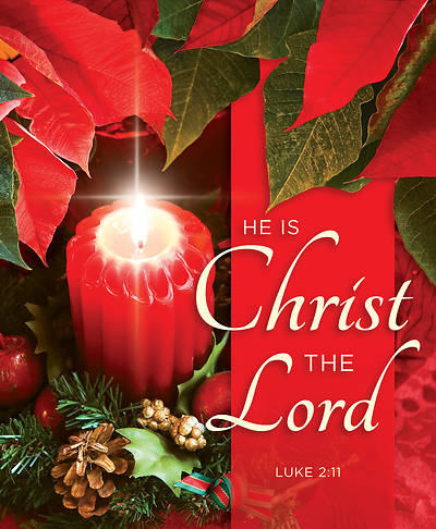He is Christ the Lord Christmas Legal Size Bulletin