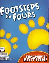 Footsteps Teacher Set K4 (Book and CD) 2nd Edition