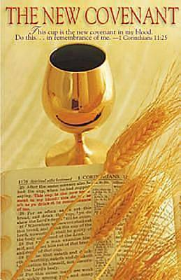 New Covenant/Communion Bulletin, Regular Size (Package of 50)