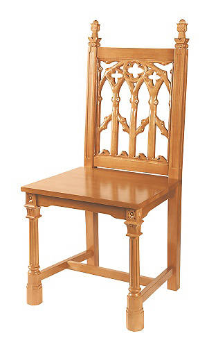 Canterbury Collection Side Chair - Medium Oak Stain