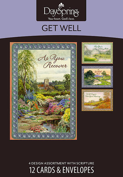 Waters of Life - Get Well Boxed Cards - Box of 12