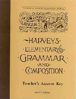 Answer Key for Harveys Elementary Grammar and Composition