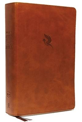 NKJV, Spirit-Filled Life Bible, Third Edition, Imitation Leather, Brown, Indexed, Red Letter Edition, Comfort Print