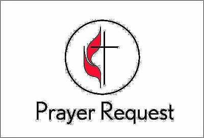 United Methodist Prayer Request Card (Package of 25)