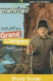 Explore the Grand Canyon with Noah Justice Study Guide & Workbook