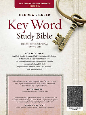 Hebrew-Greek Key Word Study Bible-NIV