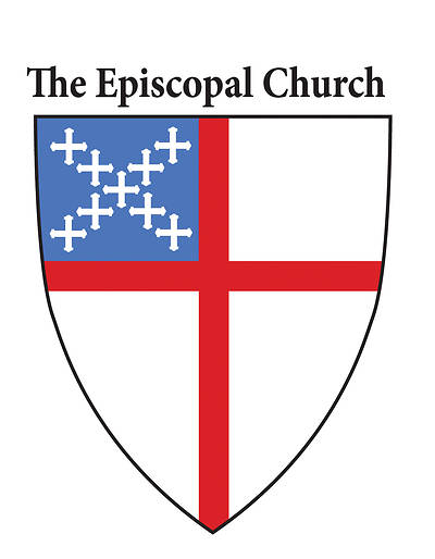 Static Episcopal Shield Window Decal [Pack of 25]