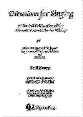 Directions for Singing Conductors Full Score