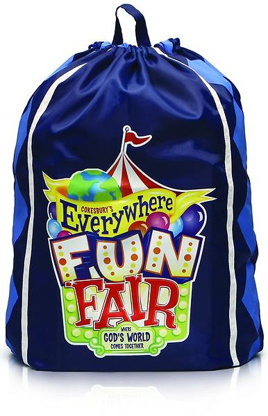 Vacation Bible School 2013 Everywhere Fun Fair Starter Kit with Outdoor Banner
