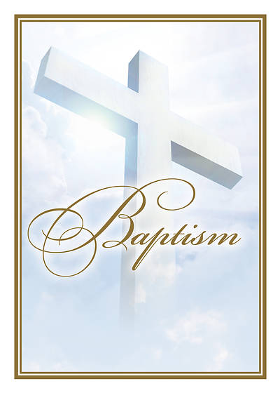 Baptism  Certificate Acts 16:31  Pkg of 6